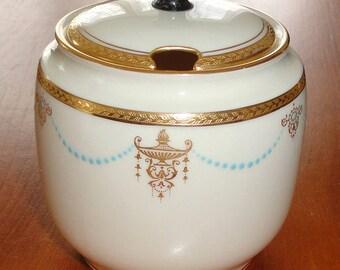 Lenox covered sugar bowl, c. 1915-1920