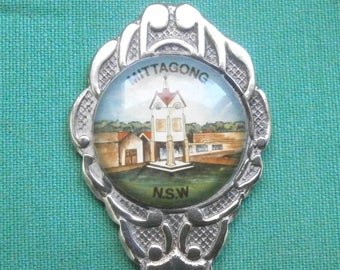 "tea spoon ""Mittagong N.S.W.""/silver plated/Collectables/Australia"