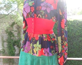 60's Flower Shirt