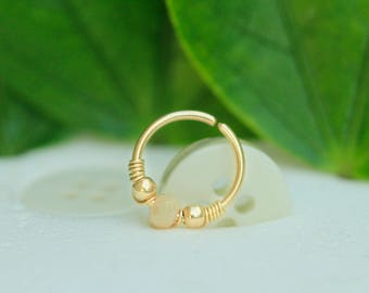 Septum in Gold or silver .