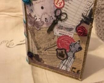 Vintage Style Handmade Book Safe/Book Box - Gorgeous!