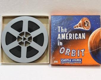 Vintage 8mm Film The American in Orbit by Castle Films #190