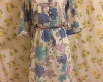Handmade Flower Power Dress