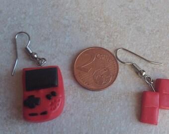 tetris earring