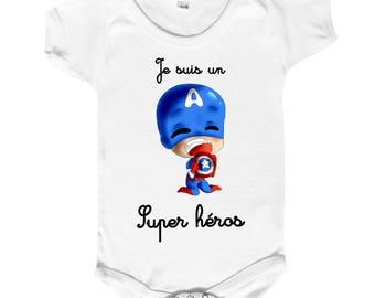For our dear hero baby BODYSUIT