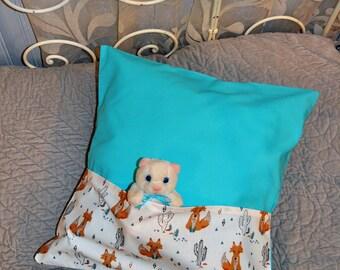 Cushion range blanket - Fox