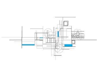 Modulor II - Bleu