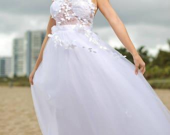 Beach Wedding Dress - Ianessa