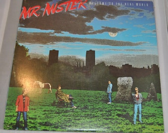 Mr. Mister - Welcome to the Real World Vinyl Record Album