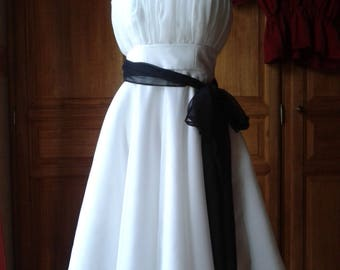 Strapless short retro style (made-to-order)