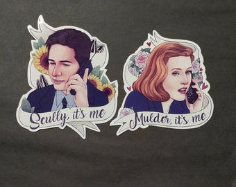 "X Files | ""...it's me"" sticker set 