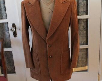 1970's Brown Corduroy Jacket