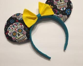Sugar Skull Mouse Ears