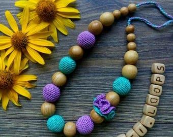 Breastfeeding Necklace - Stylish Mama Nurcing Necklace - Baby Gift