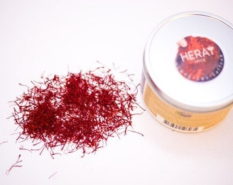 Saffron Threads, Natural and Fresh, 1 gram