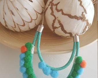 Tassels necklace boho Bohemian