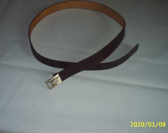 City of pure cowhide leather belt