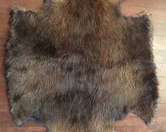 Beaver fur