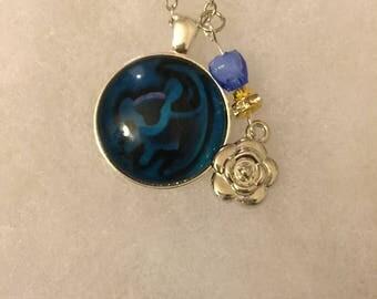 Handmade Simba Necklace with Charm