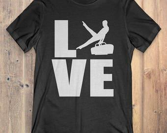 Gymnastic T-Shirt Gift: Love Gymnastic