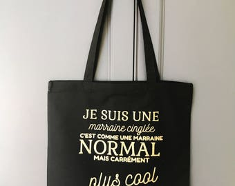 Tote bag personalized Bling Bling collection