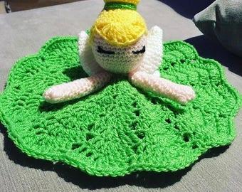Tinkerbell Lovey Blanket