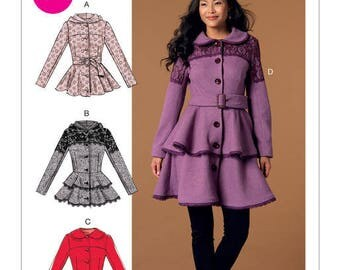 Coat by Mc Call's M7442 sewing pattern