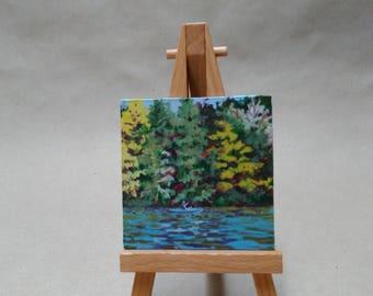 "Miniature painting The Kayaker"""