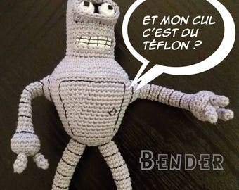 Bender - Pattern .pdf (Futurama)