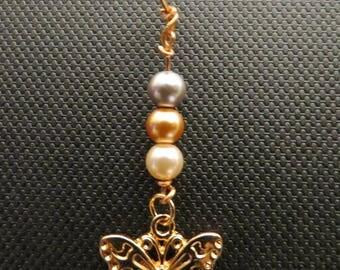 Fluttering Pearl Loc & Hair Jewelry