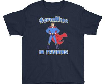 Kids Superhero T Shirt - Superhero In Training Shirt - Kids Superhero Shirts - Superhero Gifts