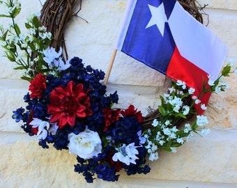 Labor Day Wreath - Memorial Day Wreath - Patriotic Wreath - 4th of July Wreath - American Wreath