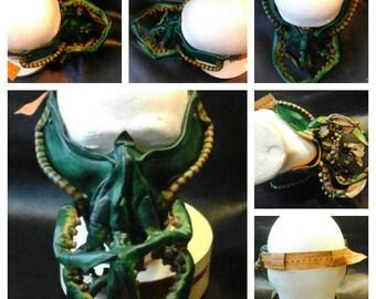 Leather mask based on the Cthulhu Mythos