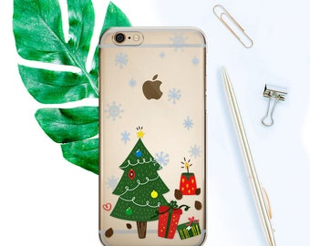 iPhone 8 Case Gift Christmas iPhone 8 Case Christmas iPhone 8 Plus Case Gift iPhone X Case Clear iPhone Case iPhone 7 Case iPhone 6S CF1022