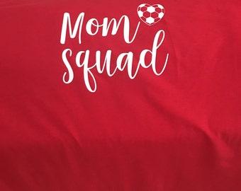 Mom Squad Soccer Tee Shirt