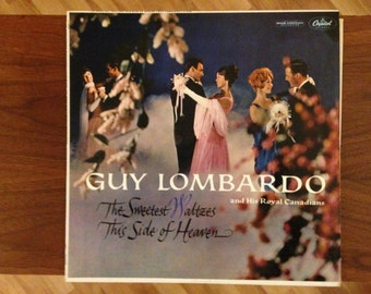 Guy Lombardo Vinyl Record   The Sweetest Waltzes This Side of Heaven