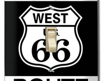 Route 66 Switch Plate Cover