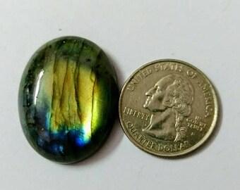 31.20 x 25.17 mm,Ovel Shape Labradorite Cobochon/Green Flash/wire wrap stone/Super Shiny/Spectrolite Cabochon/Semi Precious Gemstone/labrado