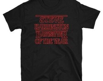 Steve Harrington Babysitter of the Year Short-Sleeve Unisex T-Shirt