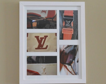Louis Vuitton Inspired Photography, Framed Wall Art, Luxury Home Decor, the PERFECT Birthday, Holiday, Housewarming Gift, Gift for Her