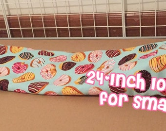24 Inch Long Tunnel for Guinea Pigs, Hedgehogs and more! Great for C&C Cages