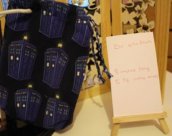 Dr. Who Blue Pouch