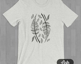 Two Feathers Tee