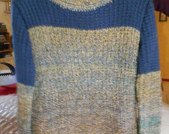 handmade sweater ribbed T 42/44