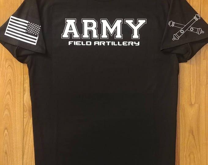 Army - US Army Shirt - Artillery - Mens Army Shirt - Womens Army Shirt - Army National Guard - Army Veteran -  Army Wife - Army Shirt