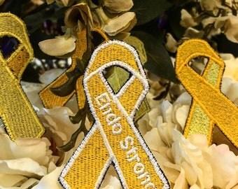 Endometriosis Awareness Ribbon Patch