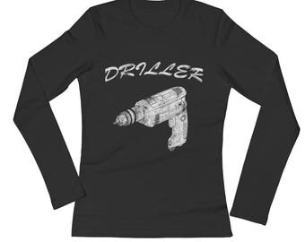 Driller Spartees Ladies' Long Sleeve T-Shirt
