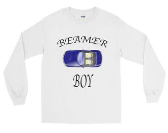 Beamer Boy distressed Unisex Spartees Long Sleeve T-Shirt
