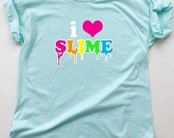 Slime birthday party | Etsy