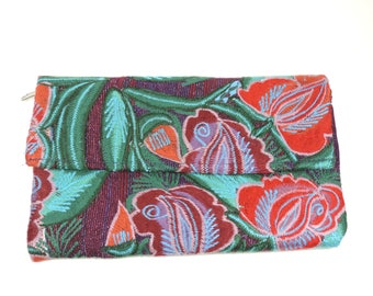 Mexican handbag - embroidered clutch from Chiapas